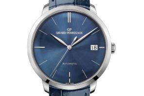 Girard-Perregaux 1966: новая модель благородного синего цвета